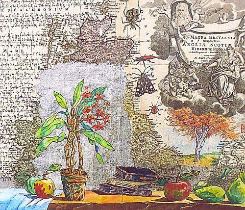 MAGNA BRITANNIA Acryl 2010, Format 47,5 x 57 cm